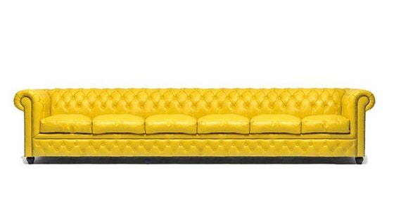 XXL Big Sofa Club Lounge gelbe Möbel 6 Sitzer Gelbe Couchen Chesterfield Sofas - price $2189.00,Kaufpreis 2189,datum 28.01.2020 23:39:09,Website amazon.com